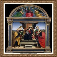 意大利杰出的画家拉斐尔Raphael神将治愈God has healed油画作品高清大图 (71)