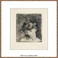 西班牙画家巴勃罗毕加索Pablo Picasso现代派素描毕加索手稿高清图片毕加索素描作品 (15)