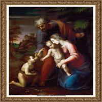 意大利杰出的画家拉斐尔Raphael神将治愈God has healed油画作品高清大图 (64)