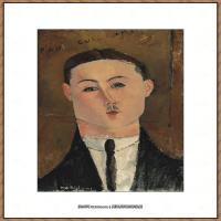 阿梅代奥莫迪利亚尼Amedeo Modigliani意大利著名画家绘画作品集油画作品高清图片PAUL GUILLAUME