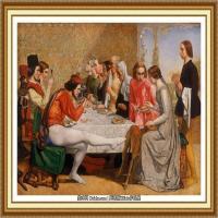 十九世纪英国画家约翰埃弗里特米莱斯John Everett Millais拉斐尔前派画家 (7)