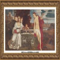 意大利画家提香韦切利奥Tiziano Vecellio西方油画之父提香大师作品高清图片威尼斯画派 (149)