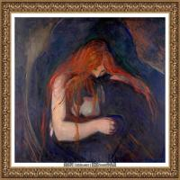 爱德华蒙克Edvard Munch挪威表现主义画家绘画作品集蒙克作品高清图片 (1)