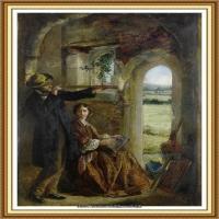 十九世纪英国画家约翰埃弗里特米莱斯John Everett Millais拉斐尔前派画家 (2)