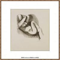 西班牙画家巴勃罗毕加索Pablo Picasso现代派素描毕加索手稿高清图片毕加索素描作品 (179)