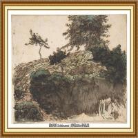 19世纪法国巴比松派画家让弗朗索瓦米勒Jean Francois Millet绘画作品集现实主义画家米勒 (9)