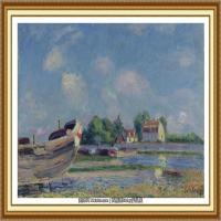阿尔弗莱德西斯莱Alfred Sisley法国印象派画家世界著名画家风景油画高清图片 (38)