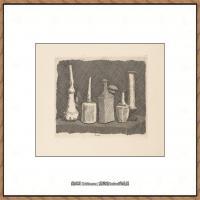 乔治莫兰迪Giorgio Morandi意大利著名的版画家油画家绘画作品集莫兰迪油画作品高清图片 (14)