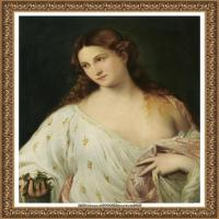 意大利画家提香韦切利奥Tiziano Vecellio西方油画之父提香大师作品高清图片威尼斯画派 (136)