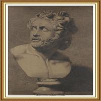十九世纪英国画家约翰埃弗里特米莱斯John Everett Millais拉斐尔前派画家素描速写 (17)