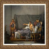 法国洛可可风格画家让巴蒂斯特格勒兹Jean Baptiste Greuze古典人物油画作品图片-Septimius Se