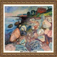 爱德华蒙克Edvard Munch挪威表现主义画家绘画作品集蒙克作品高清图片 (27)