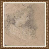 英国画家托马斯庚斯博罗Thomas Gainsborough肖像画风景画素描速写作品高清图片 (9)