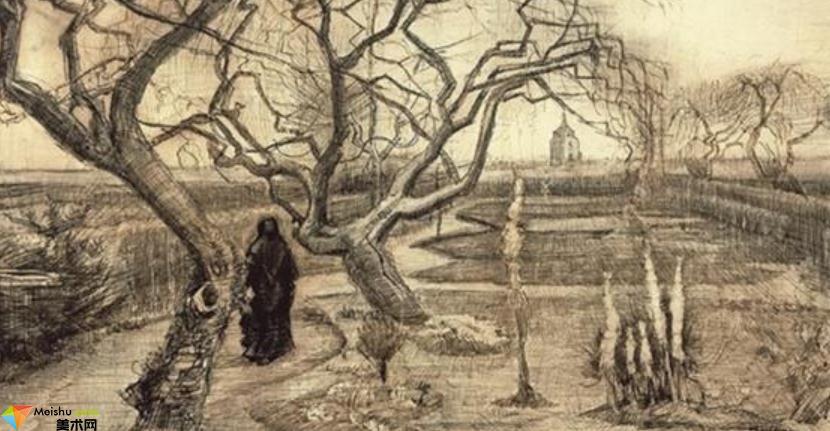 荷蘭畫家梵高-素描展(二)
