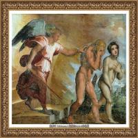 意大利杰出的画家拉斐尔Raphael神将治愈God has healed油画作品高清大图 (87)