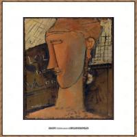阿梅代奥莫迪利亚尼Amedeo Modigliani意大利著名画家绘画作品集油画作品高清图片Lola de Valenc