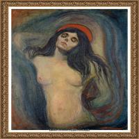 爱德华蒙克Edvard Munch挪威表现主义画家绘画作品集蒙克作品高清图片 (24)