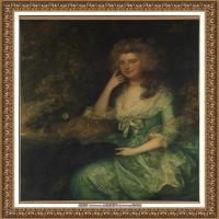英国画家托马斯庚斯博罗Thomas Gainsborough肖像画家及风景图片 (30)