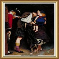 十九世纪英国画家约翰埃弗里特米莱斯John Everett Millais拉斐尔前派画家 (18)