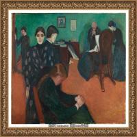 爱德华蒙克Edvard Munch挪威表现主义画家绘画作品集蒙克作品高清图片 (7)