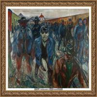 爱德华蒙克Edvard Munch挪威表现主义画家绘画作品集蒙克作品高清图片 (2)