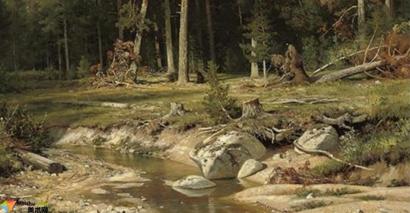 風景畫家希施金-油畫展(二)