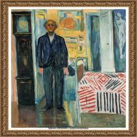 爱德华蒙克Edvard Munch挪威表现主义画家绘画作品集蒙克作品高清图片 (5)