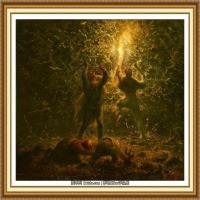 19世纪法国巴比松派画家让弗朗索瓦米勒Jean Francois Millet绘画作品集现实主义画家米勒 (11)