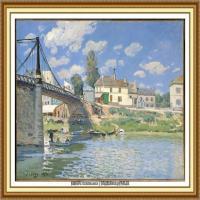 阿尔弗莱德西斯莱Alfred Sisley法国印象派画家世界著名画家风景油画高清图片 (20)