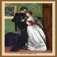 十九世纪英国画家约翰埃弗里特米莱斯John Everett Millais拉斐尔前派画家 (26)