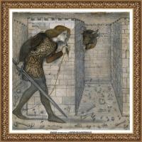 英国新拉斐尔前派画家插画家爱德华伯恩琼斯EdwardBurneJones素描速写手稿作品高清图片插画作品集 (36)