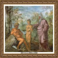 意大利杰出的画家拉斐尔Raphael神将治愈God has healed油画作品高清大图 (62)