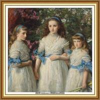 十九世纪英国画家约翰埃弗里特米莱斯John Everett Millais拉斐尔前派画家 (5)