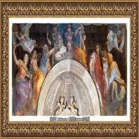 意大利杰出的画家拉斐尔Raphael神将治愈God has healed油画作品高清大图 (65)