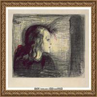 爱德华蒙克Edvard Munch挪威表现主义画家绘画作品集蒙克作品高清图片 (28)
