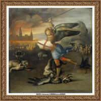 意大利杰出的画家拉斐尔Raphael神将治愈God has healed油画作品高清大图 (82)