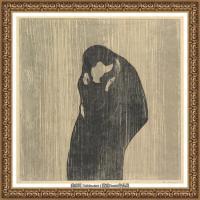爱德华蒙克Edvard Munch挪威表现主义画家绘画作品集蒙克作品高清图片 (26)