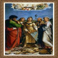 意大利杰出的画家拉斐尔Raphael神将治愈God has healed油画作品高清大图 (75)