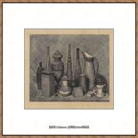 乔治莫兰迪Giorgio Morandi意大利著名的版画家油画家绘画作品集莫兰迪油画作品高清图片 (4)