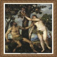 意大利画家提香韦切利奥Tiziano Vecellio西方油画之父提香大师作品高清图片威尼斯画派 (222)