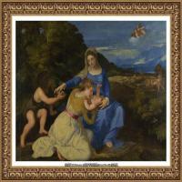意大利画家提香韦切利奥Tiziano Vecellio西方油画之父提香大师作品高清图片威尼斯画派 (254)
