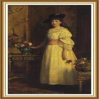 十九世纪英国画家约翰埃弗里特米莱斯John Everett Millais拉斐尔前派画家 (29)