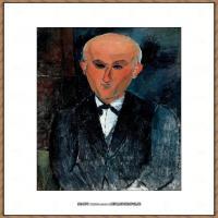 阿梅代奥莫迪利亚尼Amedeo Modigliani意大利著名画家绘画作品集油画作品高清图片Max Jacob