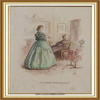十九世纪英国画家约翰埃弗里特米莱斯John Everett Millais拉斐尔前派画家 (22)