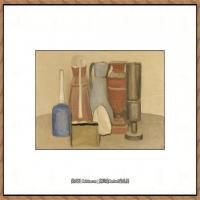 乔治莫兰迪Giorgio Morandi意大利著名的版画家油画家绘画作品集莫兰迪油画作品高清图片 (20)