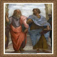 意大利杰出的画家拉斐尔Raphael神将治愈God has healed油画作品高清大图 (63)