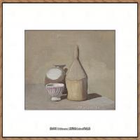 乔治莫兰迪Giorgio Morandi意大利著名的版画家油画家绘画作品集莫兰迪油画作品高清图片 (18)