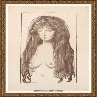 爱德华蒙克Edvard Munch挪威表现主义画家绘画作品集蒙克作品高清图片 (18)