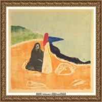 爱德华蒙克Edvard Munch挪威表现主义画家绘画作品集蒙克作品高清图片 (22)
