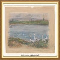 阿尔弗莱德西斯莱Alfred Sisley法国印象派画家世界著名画家风景油画高清图片 (26)